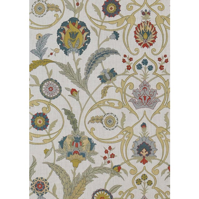 Extra wide printed Damask wallpaper. Classic designed wallpaper by Lewis & Wood that has been a favorite choice for...
