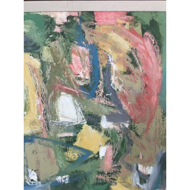 Abstract Abstract Expressionist Painting Kimberly Moore For Sale - Image 3 of 7