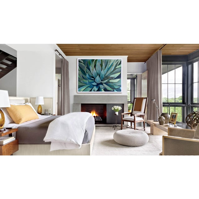 Agave Americana Acrylic Painting - Image 6 of 10