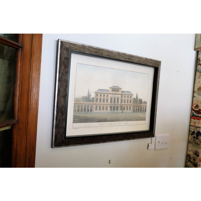 Resin Framed Architectural Rendering For Sale - Image 4 of 6