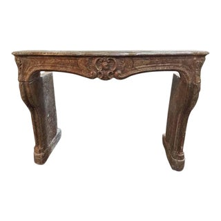 Antique Louis XIV Marble Mantel For Sale