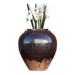 19th Century Martaban Jar For Sale