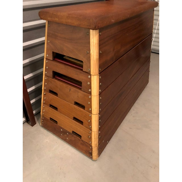Boho Chic Mid-Century Modern Czechoslovakian Vault Chest of Drawers For Sale - Image 3 of 6
