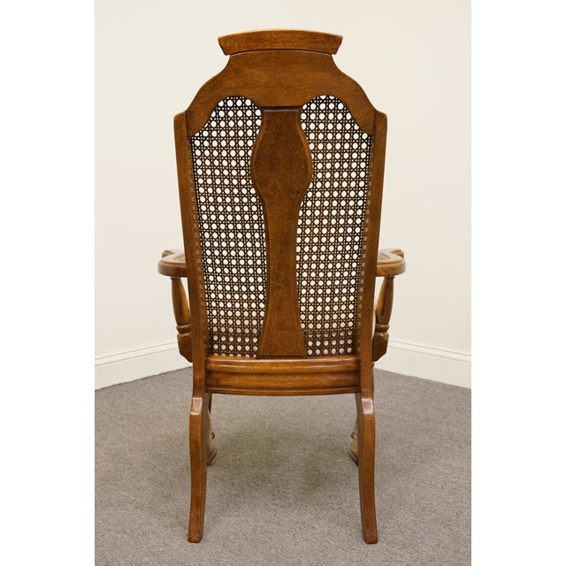 Late 20th Century Late 20th Century Vintage Henry Link Dixie Contemporary Style Cane Back Dining Chair For Sale - Image 5 of 9