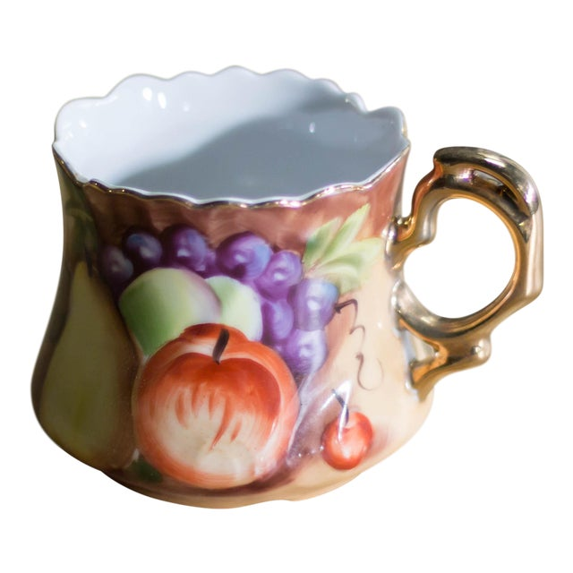 Antique Lefton China Hand Painted Fancy Fruit Tea Cup Chairish