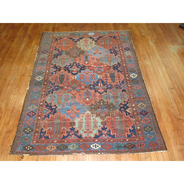 Antique Tribal Persian Rug - 5'2'' x 7'2'' - Image 3 of 5