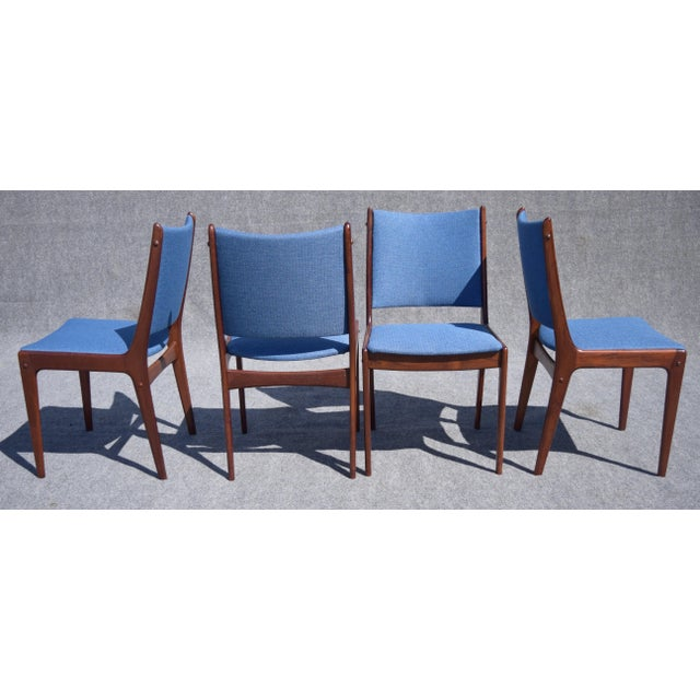 Johannes Andersen Danish Modern Rosewood Dining Chairs - Set of 6 - Image 7 of 9