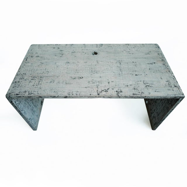 Modern Modern Waterfall Table / Desk For Sale - Image 3 of 8