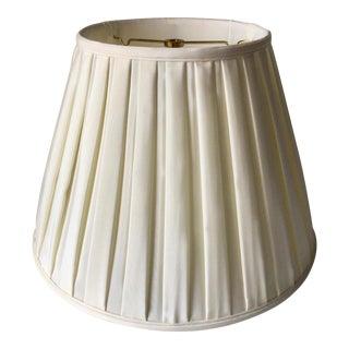 Custom Fabricated Pleated Silk Shade For Sale