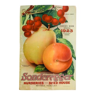 1923 Seed Nursery Catalog Fruit, Flowers, Veggies Spring Garden Book