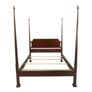 Henkel Harris Model 170 Mahogany Queen Size Bed For Sale