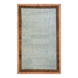 Momeni Desert Gabbeh Hand Knotted Slate Wool Area Rug - 2' X 3'