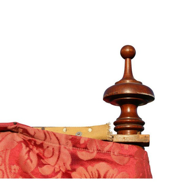Mid 19th Century Portuguese Rosewood Tester Bed For Sale - Image 5 of 10