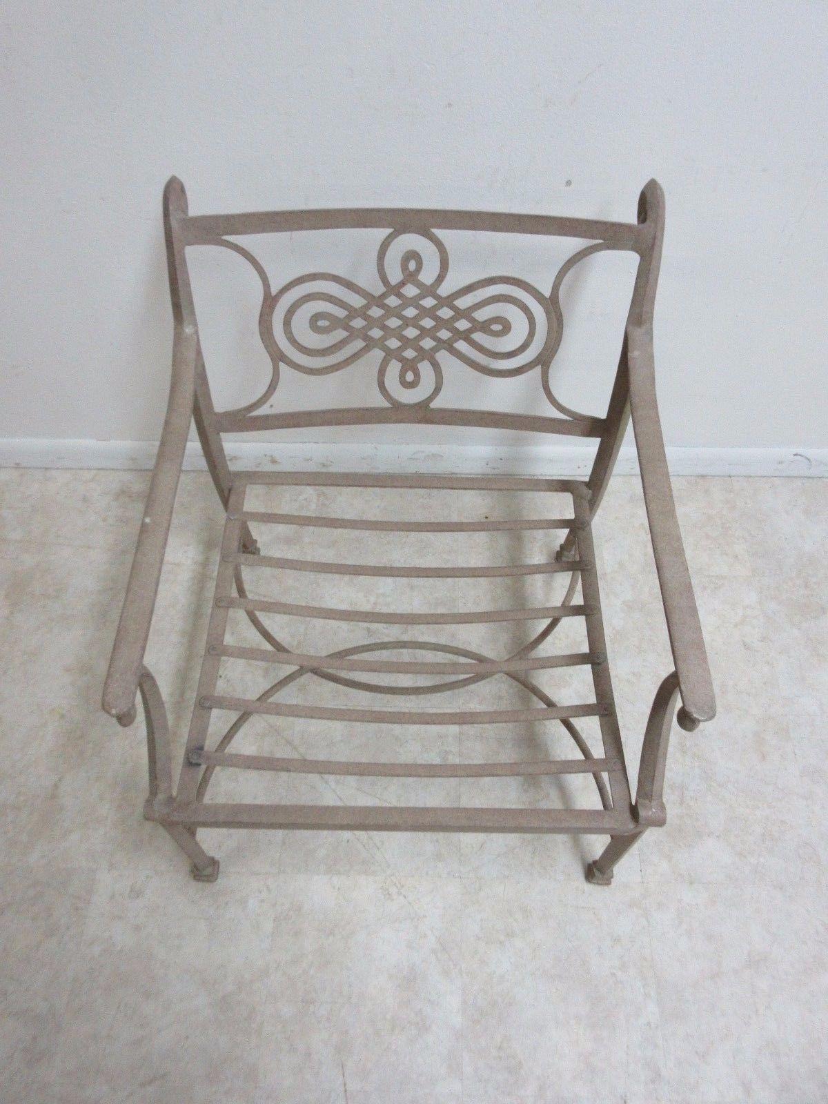 Woodard Landgrave Cast Classics Aluminum Patio Lounge Chair Chairish