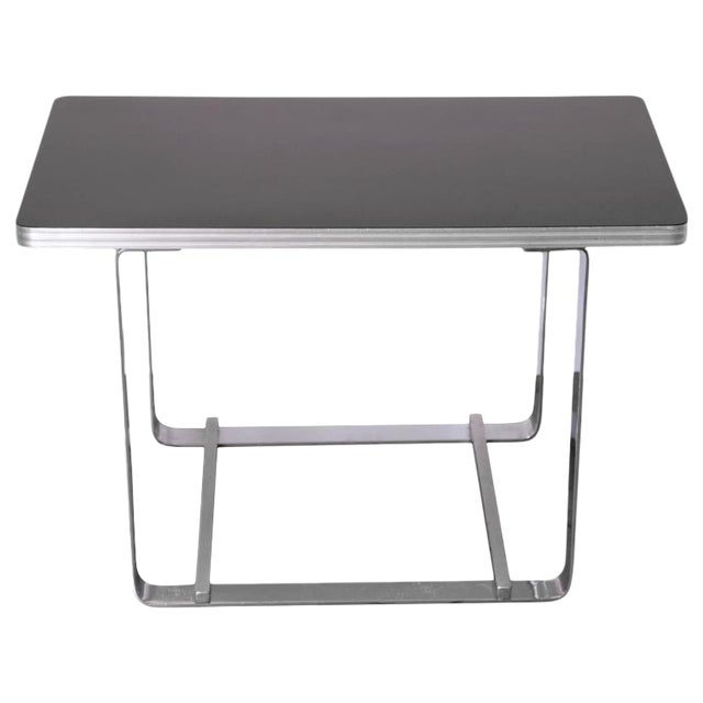 Gilbert Rohde for Troy Sunshade Machine Age Art Deco Side or End Cocktail Table For Sale