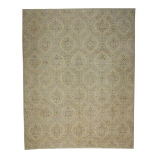 Transitional Rug with Modern French Provincial Style - 'Sophisticated Romance'