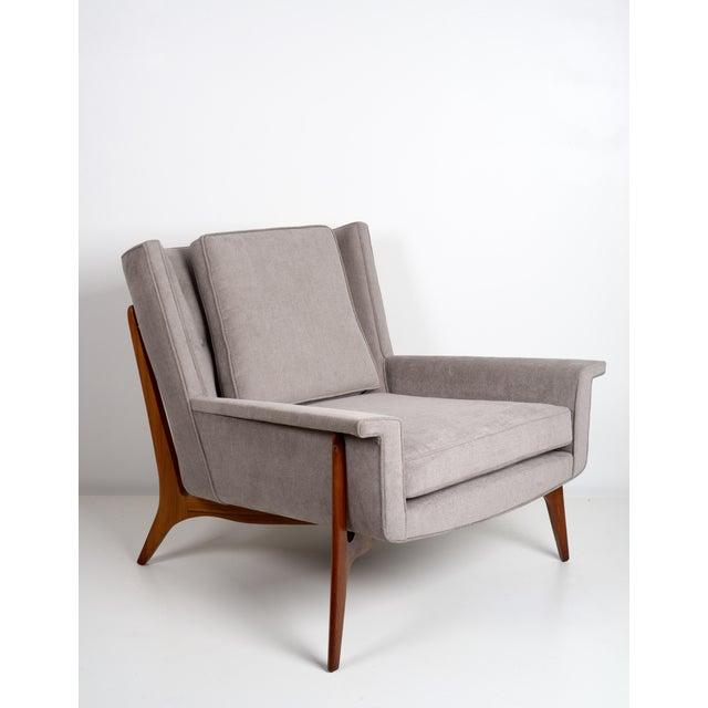 1950s Vladimir Kagan for Dreyfuss Lounge Chair, Circa 1950s For Sale - Image 5 of 7