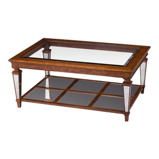 Scarborough House Glass Top Cocktail Table For Sale