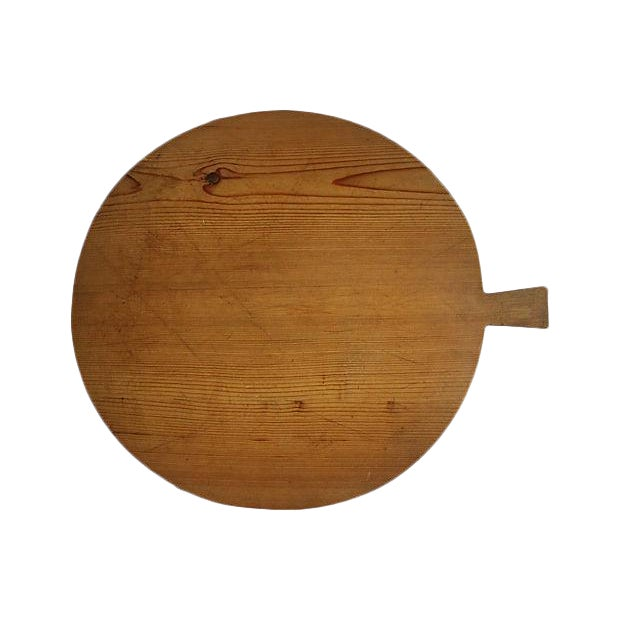 1920s French Harvest Cheese Board - Image 1 of 3