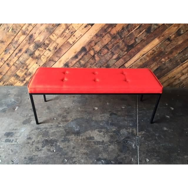 Custom Powder Coated Steel Bench - Image 2 of 7