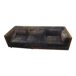 Milo Baughman Style Case Sofa