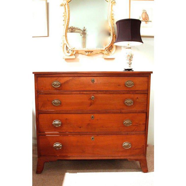 a479acf40b50 An American Hepplewhite Chest of Drawers of Attractive Lines and  Proportions