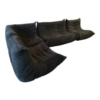 1990s Ligne Roset Togo Sofa Set - 4 Pieces For Sale
