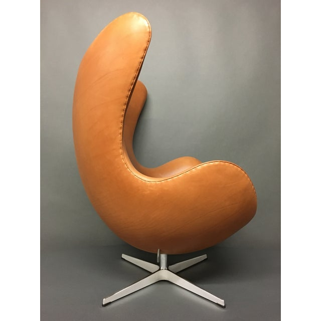 Arne Jacobsen for Fritz Hansen Egg Chairs - A Pair - Image 4 of 9
