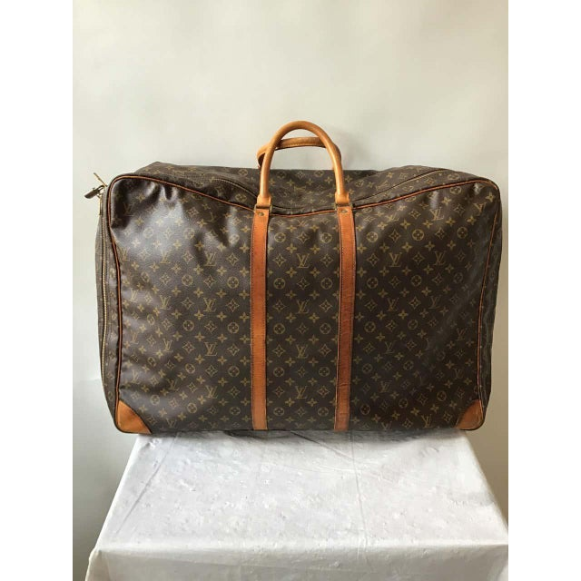 1980s 1980s Louis Vuitton Soft Suitcase For Sale - Image 5 of 13
