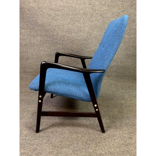DUX Mid Century Vintage Alf Svensson for Dux Scandinavian Lounge Chair For Sale - Image 4 of 11