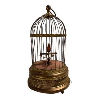Antique German Singing Bird Music Box Marked Underside k.g Karl For Sale