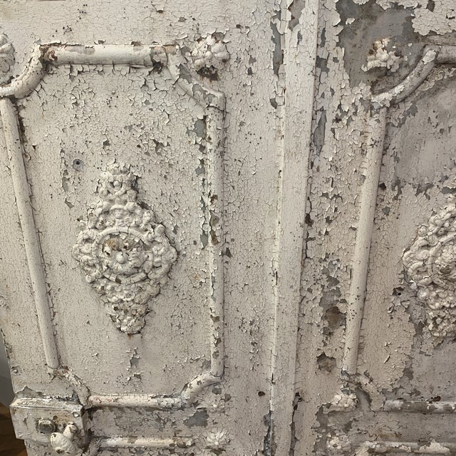 1880s Vintage French Decorative Garden Gate For Sale - Image 10 of 12