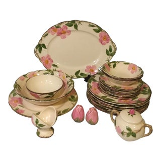 Franciscan Desert Rose China Dinnerware - 22 Pc. Set