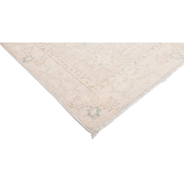 "Oushak Hand Knotted Area Rug - 4' 0"" x 5' 10"" - Image 2 of 4"
