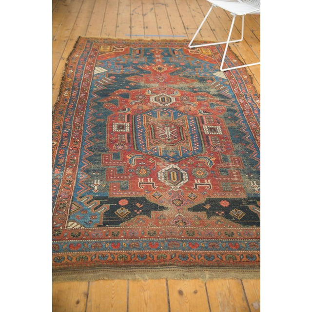 """Antique Hamadan Rug - 4'9"""" X 7'11"""" For Sale In New York - Image 6 of 13"""
