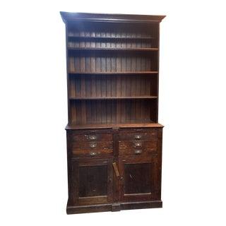 19th Century English Ash Cupboard For Sale