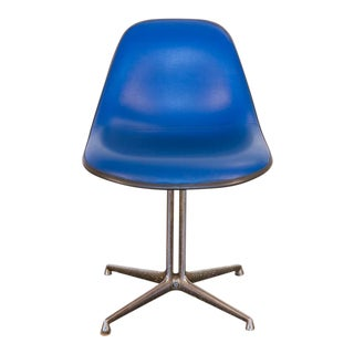 Blue La Fonda Eames Chair for Herman Miller For Sale
