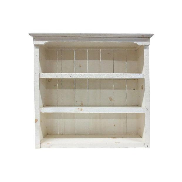 Rough-Hewn White Bookcase - Image 2 of 6