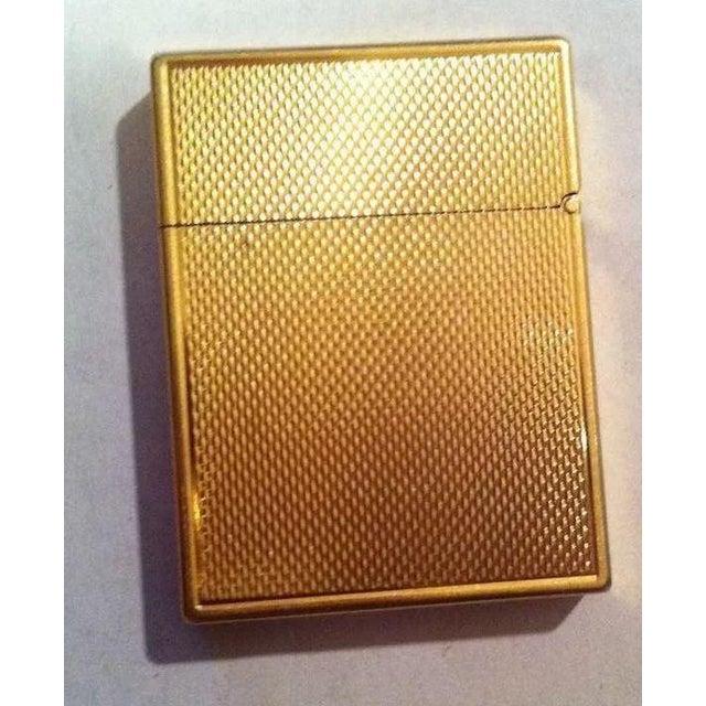 Art Nouveau 14k Gold Lighter Signed B&A For Sale - Image 3 of 10