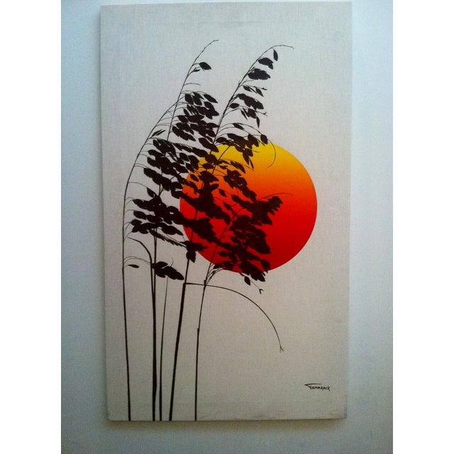 1970s Landscape Silkscreen - Image 2 of 6