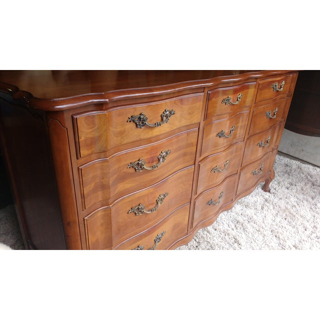 Cherrywood French Provicial Chest of Drawers - Image 4 of 8
