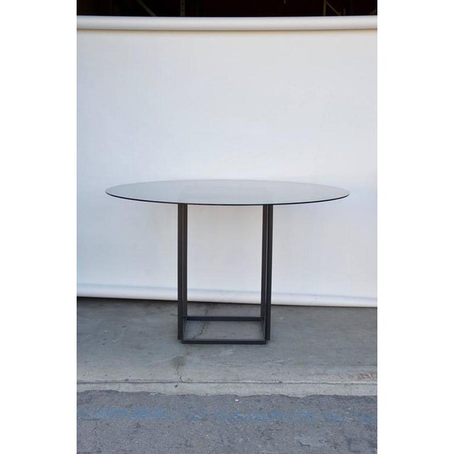 """Contemporary Design Frères The """"Cuboid"""" Minimalist Center or Breakfast Table For Sale - Image 4 of 7"""