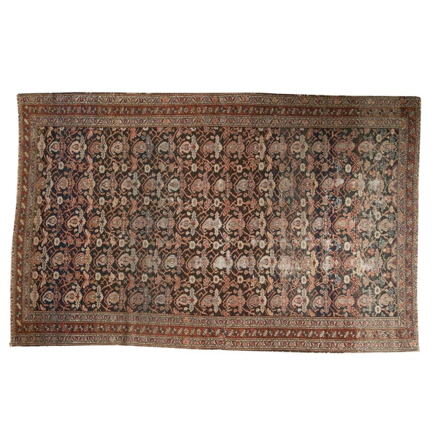 "Antique Fine Malayer Rug - 4'1"" X 6'4"" For Sale"