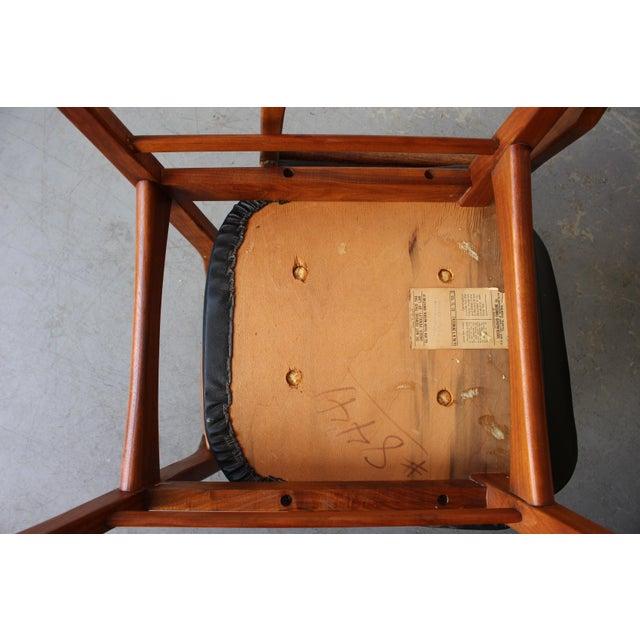 Mid-Century Danish Modern Foster-McDavid Furniture Inc. Chairs - Set of 3 - Image 8 of 11