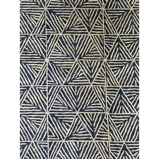 3 Yards of Thibaut Mombasa Linen Fabric For Sale