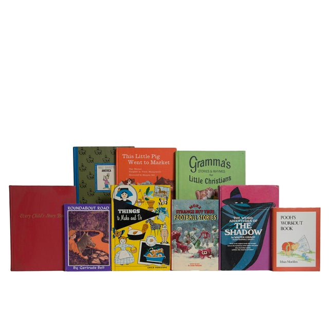 Features a blend of 20 authentic mid-century books published 1940-1969. Includes a delightful collection of children's...