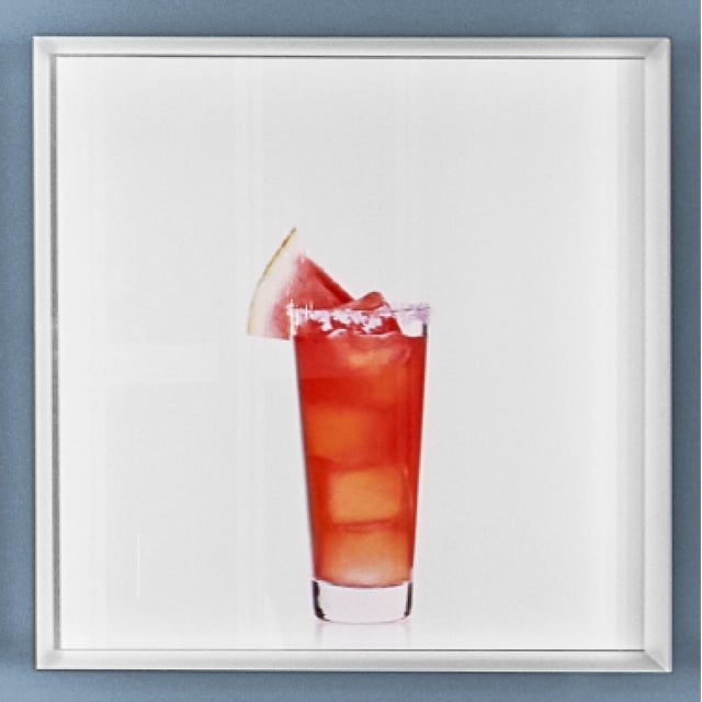 """""""Watermelon Margarita"""" Limited-Edition Cocktail Portrait Photograph For Sale - Image 10 of 11"""
