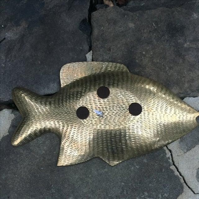 Vintage Brass Fish Dish - Image 7 of 8
