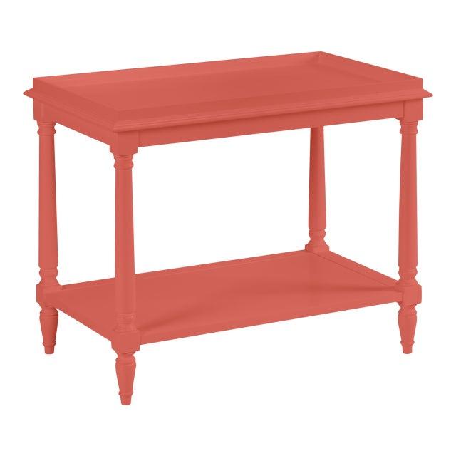 Casa Cosima Revere Side Table, Crimson For Sale