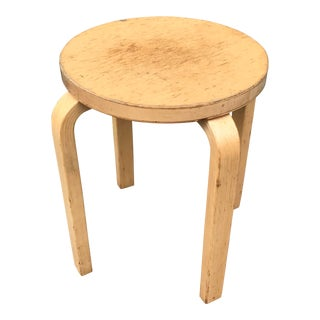 Alvar Aalto E60 Stool (B) For Sale